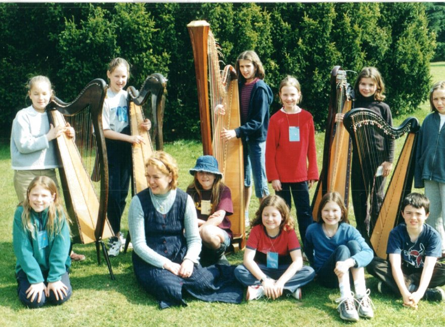 Harp lessen in Leuven by Amira